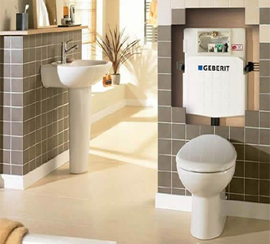 Geberit Frames and Cisterns