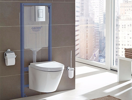 Toilet Wall Frames
