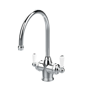 PERRIN & ROWE 1937 POLARIS 3-IN-1 INSTANT HOT SINK MIXER Chrome 1937CP