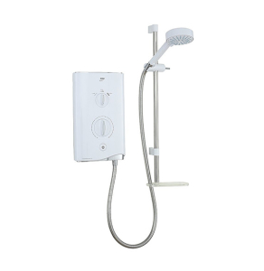 Mira Sport Thermostatic 9.8Kw Wh/Chr 1.1746.006