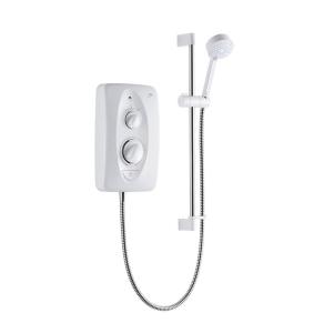 Mira Jump MultiFit Shower 9.5kW White/Chrome 1.1788.011