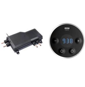 Mira Platinum Dual Valve & Controller Only - Pumped - 1.1796.006 1.1796.006