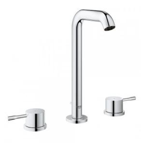 Grohe Essence 3-Hole Basin Mixer & Pop Up Waste L-Size 20299 20299001
