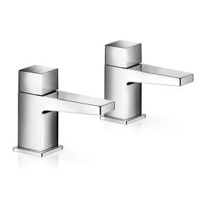 Mira Honesty Bathroom Basin Pillar Taps 2.1815.002