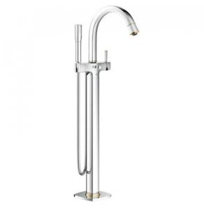 Grohe Grandera Floor-Standing Bath/Shower Mixer Chrome / Gold - 23318IG0 23318IG0