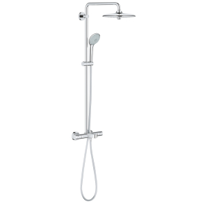 Euphoria System 260 Shower system with bath thermostat for wall mounting - 26114001 26114001