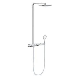 Grohe Rainshower SmartControl 360 DUO Shower System In Moon White - 26250LS0 26250LS0