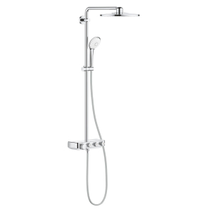 Grohe Euphoria SmartControl 310 DUO Shower System In Chrome - 26507000 26507000