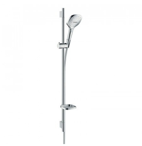 Hansgrohe Raindance Select E Shower Set 120 3Jet With Shower Rail 90 Cm And Soap Dish - 26621000 26621000