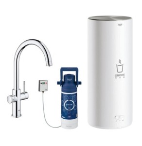 Grohe Red II Duo C Spout Tap & L Size Boiler Chrome 30328001 30328001