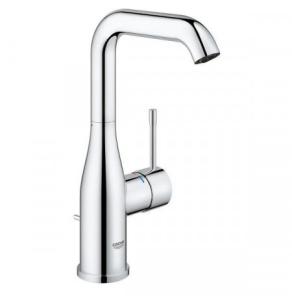 Grohe Essence U-Spout Basin Mixer Tap & Pop Up Waste, L-Size 32628 32628001