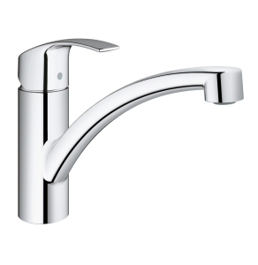 GROHE Eurosmart New kitchen tap, 140° swivel range, GROHE StarLight®, Easy Exchange Mousseur, separate internal waterways 33281002