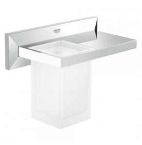 Grohe Allure Brilliant Shelf with Tumbler 40503 40503000