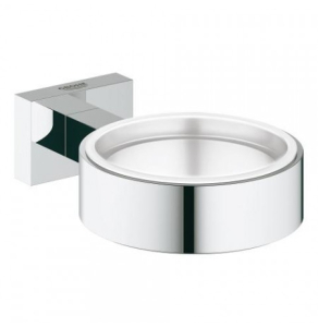 Grohe Essentials Cube Holder For Glass/Soap Dish 40508 40508001