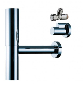 HANSGROHE BOTTLE TRAP FLOWSTAR WITH ANGLE VALVES - 52120830 52120830