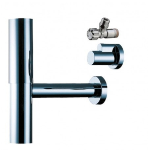 HANSGROHE BOTTLE TRAP FLOWSTAR WITH ANGLE VALVES - 52120990 52120990