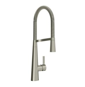 Bristan Saffron Professional Sink Mixer Brushed Nickel - SFF PROSNK BN SFF PROSNK BN