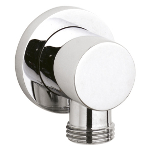 Nuie Shower Accessories Chrome Contemporary Outlet Elbow - A3275 A3275