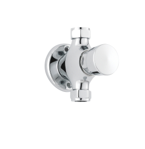 Nuie Commercial Showers Chrome Contemporary Exposed Non-Concussive Valve - A3788 A3788