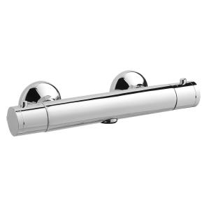 Nuie Bar Showers Chrome Contemporary Minimalist Thermostatic Valve - A3906 A3906