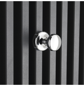 Nuie Chrome Contemporary Magnetic Robe Hook - ACC001 ACC001