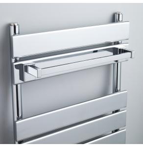 Nuie Chrome Contemporary Magnetic Towel Rail - ACC005 ACC005