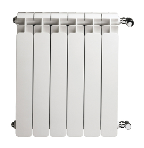 Faral Alba 95 Aluminium Radiator 580mm H x 1840mm W 23 Sections White ALBA580-23