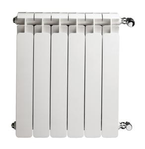 Faral Alba 95 Aluminium Radiator 880mm H x 480mm W 6 Sections White ALBA880-6