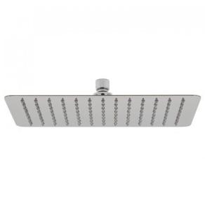 """Vado Aquablade Single Function Easy Clean Slim Line Rectangular Shower Head, 300Mm X 200Mm (12 X 8"""") - Aqb-20X30-C/P VADO1292"""