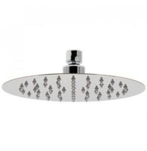 """Vado Aquablade Single Function Easy Clean Slim Line Round Shower Head 200Mm (8"""") - Aqb-Ro/20-C/P VADO1343"""