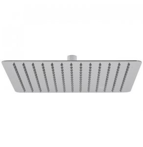 """Vado Aquablade Single Function Easy Clean Slim Line Square Shower Head, 300Mm (12"""") - Aqb-Sq/30-C/P VADO1295"""