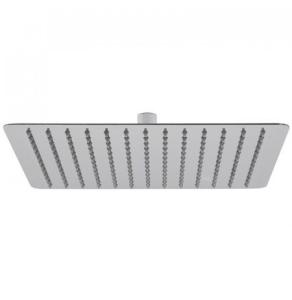 """Vado Aquablade Single Function Easy Clean Slim Line Square Shower Head, 300Mm (12"""") - Aqb-Sq/30-C/P VADO1340"""