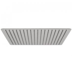 """Vado Aquablade Single Function Easy Clean Slim Line Square Shower Head, 400Mm (16"""") - Aqb-Sq/40-C/P VADO1341"""