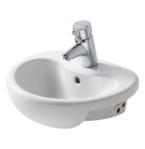 Armitage Shanks Contour 21 Semi-Countertop Basin 400mm Wide - 1 Tap Hole AS10049