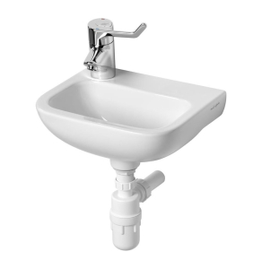 Armitage Shanks Contour 21 Handrinse Basin 370mm Wide - 1 LH Tap Hole AS10028