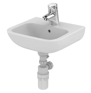 Armitage Shanks Portman 21 Wall Hung Cloakroom Basin with Overflow 400mm Wide - 1 Tap Hole AS10020