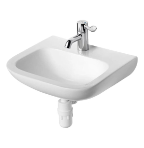 Armitage Shanks Portman 21 Wall Hung Cloakroom Basin No Overflow 500mm Wide - 1 Tap Hole AS10044