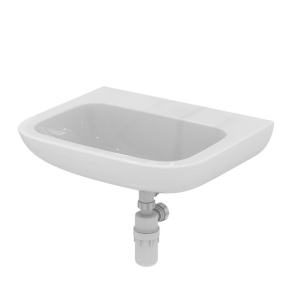 Armitage Shanks Portman 21 Wall Hung Basin No Overflow 600mm Wide - 0 Tap Hole AS10073