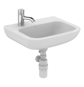 Armitage Shanks Portman 21 Wall Hung Cloakroom Basin No Overflow 500mm Wide - 1 LH Tap Hole AS10043