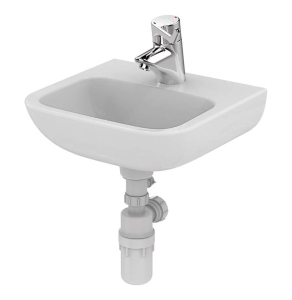 Armitage Shanks Portman 21 Wall Hung Cloakroom Basin No Overflow 400mm Wide - 1 Tap Hole AS10019