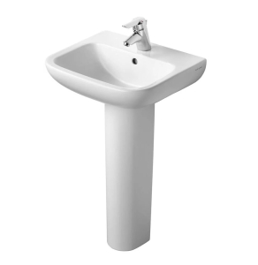 Armitage Shanks Portman 21 Basin with Full Pedestal 500mm Wide - 1 Tap hole AS10052