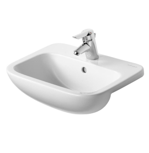 Armitage Shanks Profile 21 Semi Countertop Basin with Overflow 500mm Wide - 1 Tap Hole AS10077