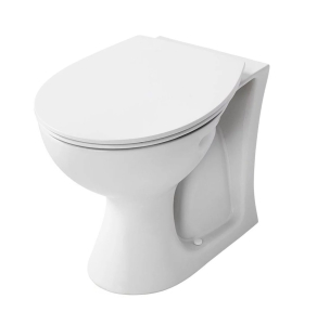 Armitage Shanks Sandringham 21 Back to Wall Toilet WC 530mm Projection - Standard Seat AS10093