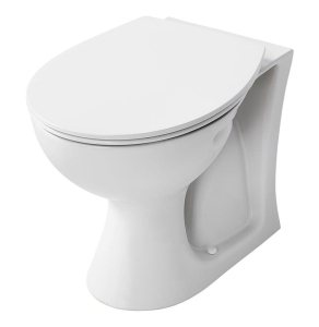 Armitage Shanks Sandringham 21 Back to Wall Toilet WC 530mm Projection Hardwearing Seat AS10098