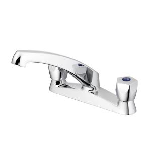 Armitage Shanks Sandringham 21 Two Hole Kitchen Sink Mixer Tap- Chrome AS10147
