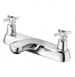 Armitage Shanks Sandringham 21 Two Hole Bath Filler with Crossheads - Chrome AS10153
