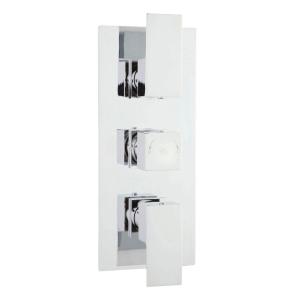 Hudson Reed Art Triple Thermostatic Shower Valve With Diverter - ART3212 ART3212