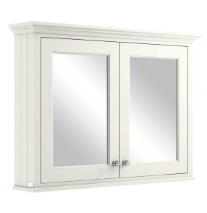 Bayswater Pointing White Bathroom Cabinet 750mm High x 1050mm Wide BAY1049