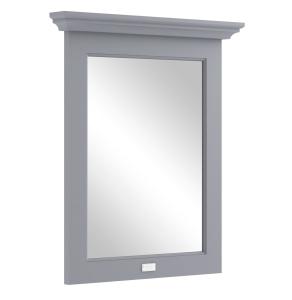 Bayswater Plummett Grey Bathroom Mirror 700mm High x 600mm Wide BAY1050