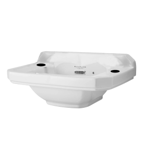 Bayswater Fitzroy Cloakroom Basin 515mm Wide 2 Tap Hole BAYC010